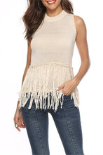 Load image into Gallery viewer, Knit Tassel Vest