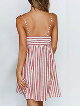 Load image into Gallery viewer, Bow Stripe Dress