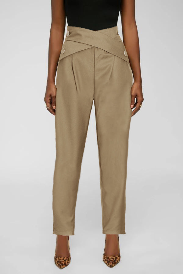 Cross Waist Pants