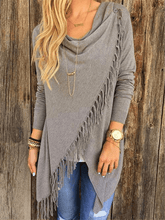 Load image into Gallery viewer, Asymmetrical Tassel Top