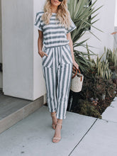 Load image into Gallery viewer, Double Stripes Jumpsuit