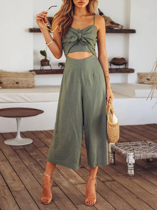 Sling Hollow Jumpsuit