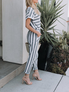 Double Stripes Jumpsuit