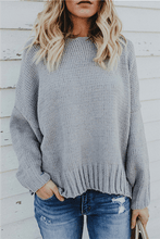 Load image into Gallery viewer, Cross Back Tied Sweater