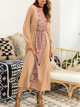 Load image into Gallery viewer, Boho Combo Maxi Dress