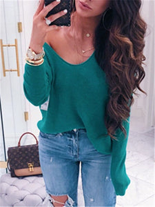 Plain Scoop Sweater