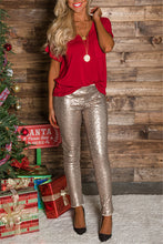 Load image into Gallery viewer, High-Waist Sequin Leggings