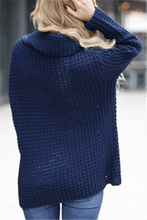 Load image into Gallery viewer, Cowl Neck Button Sweater-Clearance
