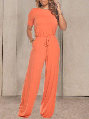 Tied Front & Back Jumpsuit