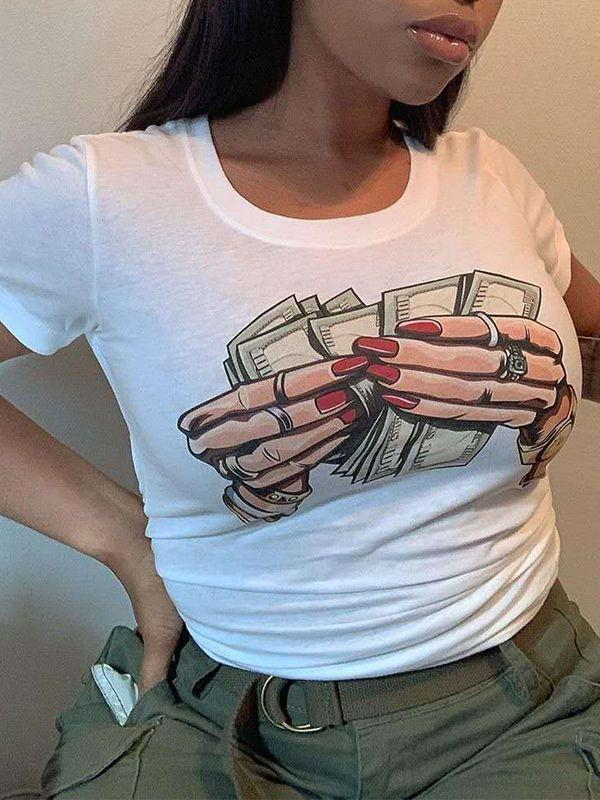 Count Your Money Tee