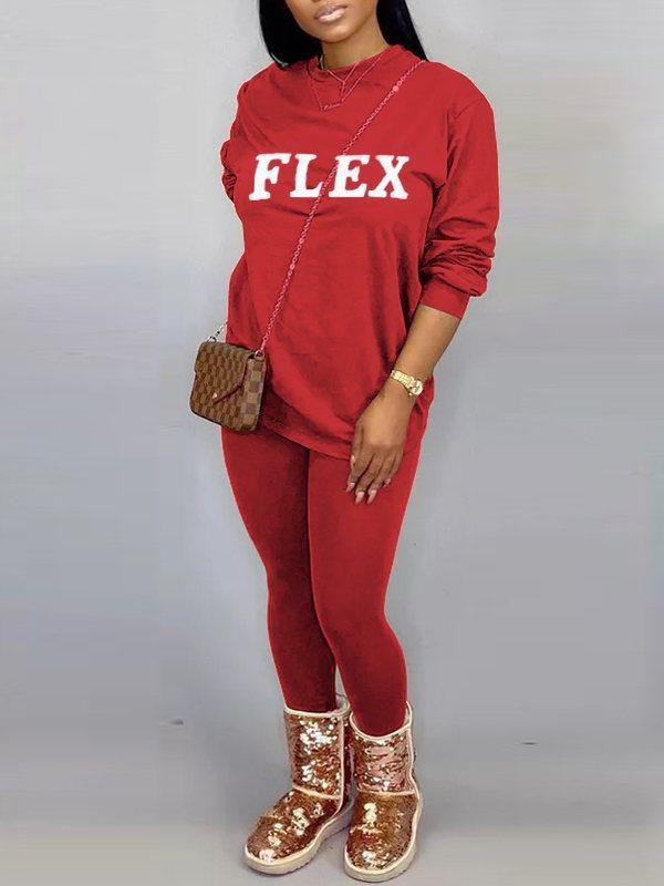 FLEX Sweatshirt & Pants Set