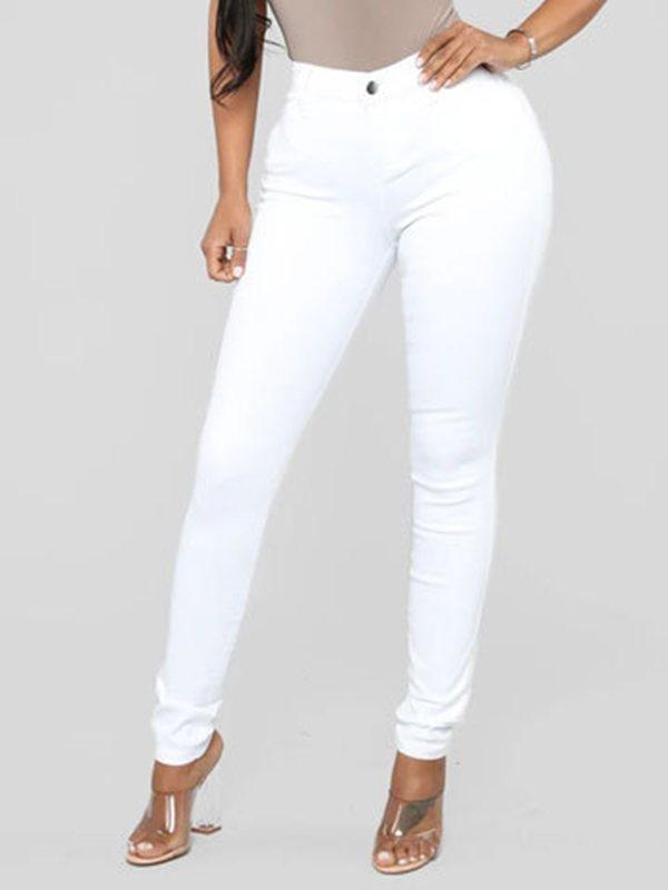 Stretch-Denim Skinny Jeans