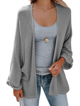 Load image into Gallery viewer, Knit Slouchy Cardigan