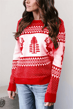 Load image into Gallery viewer, Christmas Jacquard Sweater