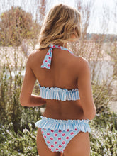 Load image into Gallery viewer, Floral Frilled Bikini