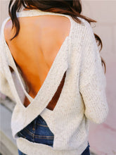 Load image into Gallery viewer, Crisscross Back Sweater