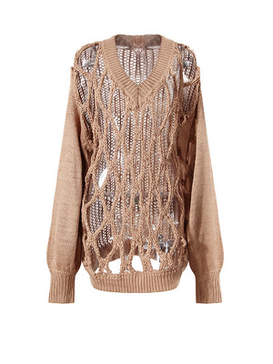 All About Net Sweater