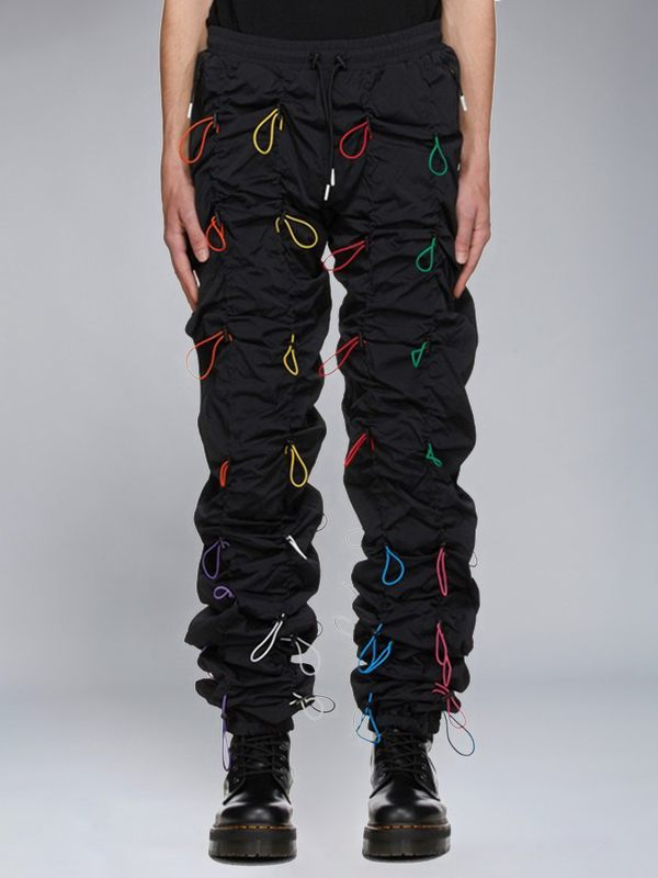 Lace Up Jogger Pants