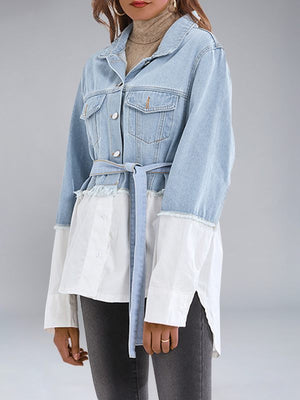 Denim Combo Shacket
