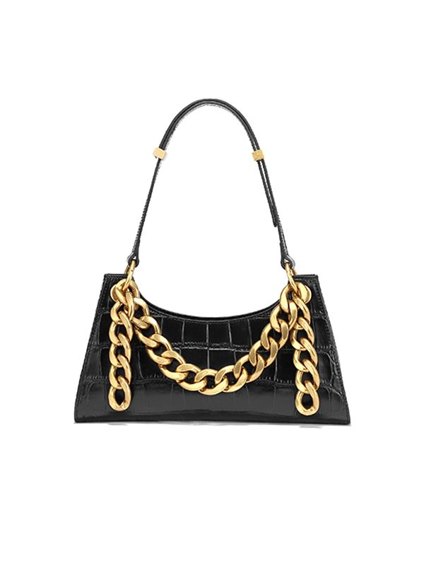 Golden Chain Shoulder Bag