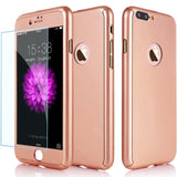 360° Premium Armor Tempered Glass iPhone 8 Case