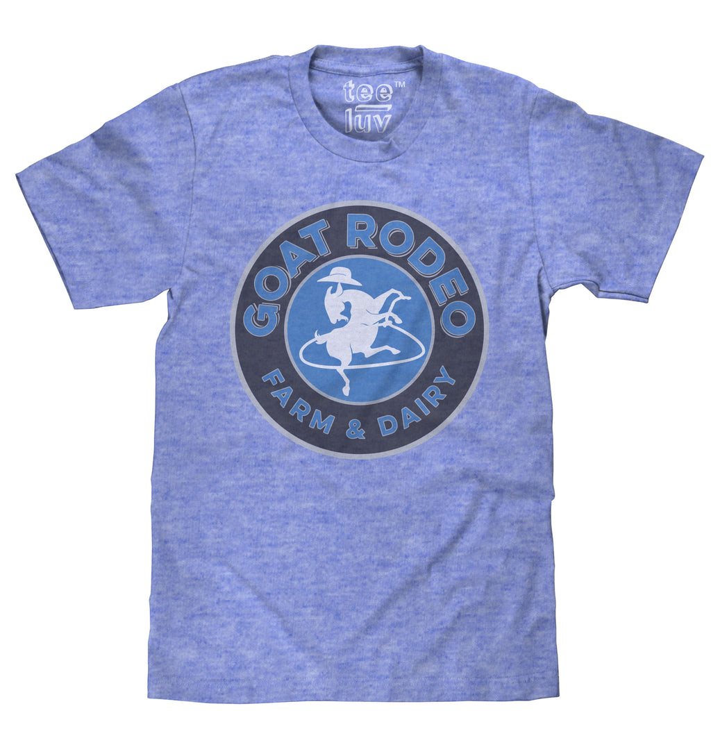 Goat Rodeo Royal Snow Heather Tee