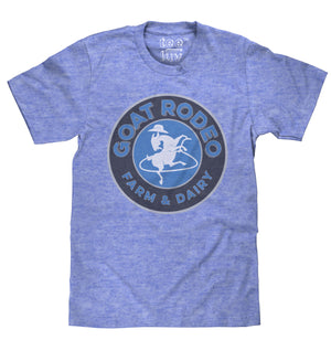 Goat Rodeo Mens Royal Snow Heather Tee