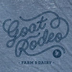 Goat Rodeo Men's Burnout Tee