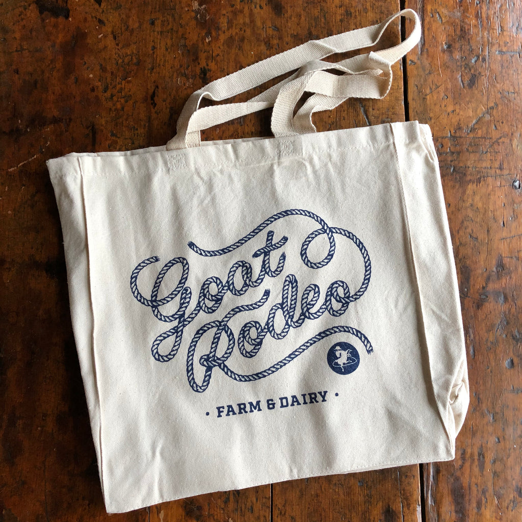 Goat Rodeo Logo Canvas Tote