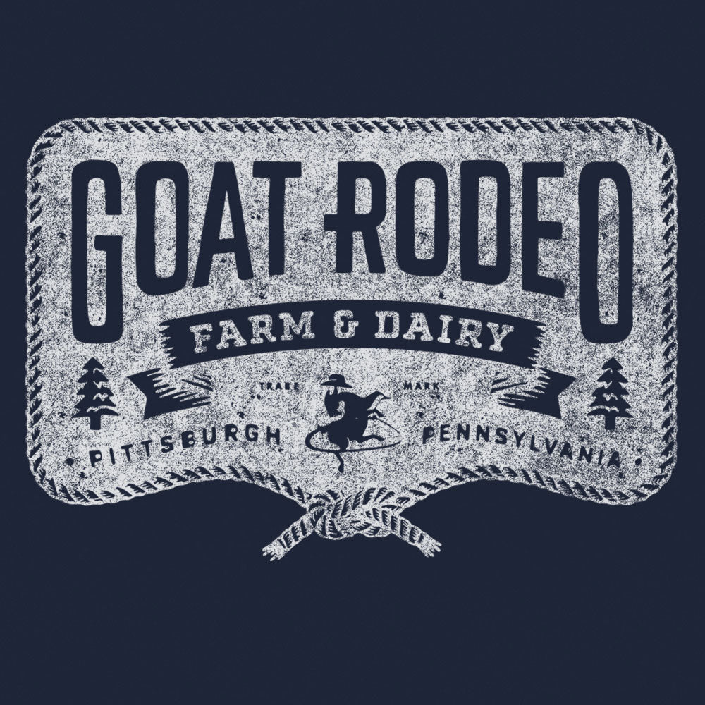 Goat Rodeo Navy Tee