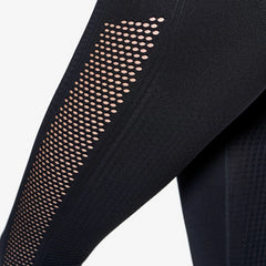 ICANIWILL - DYNAMIC SEAMLESS 7/8 TIGHTS BLACK