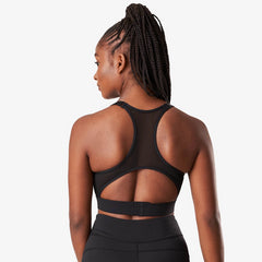 ICANIWILL - FOCUS SPORTS BRA BLACK