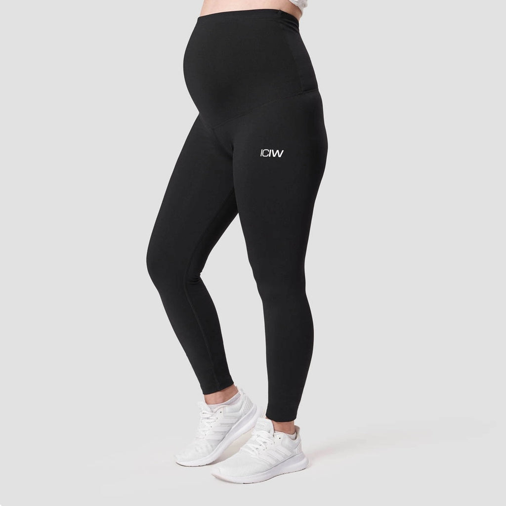 ICANIWILL - MATERNITY TIGHTS BLACK