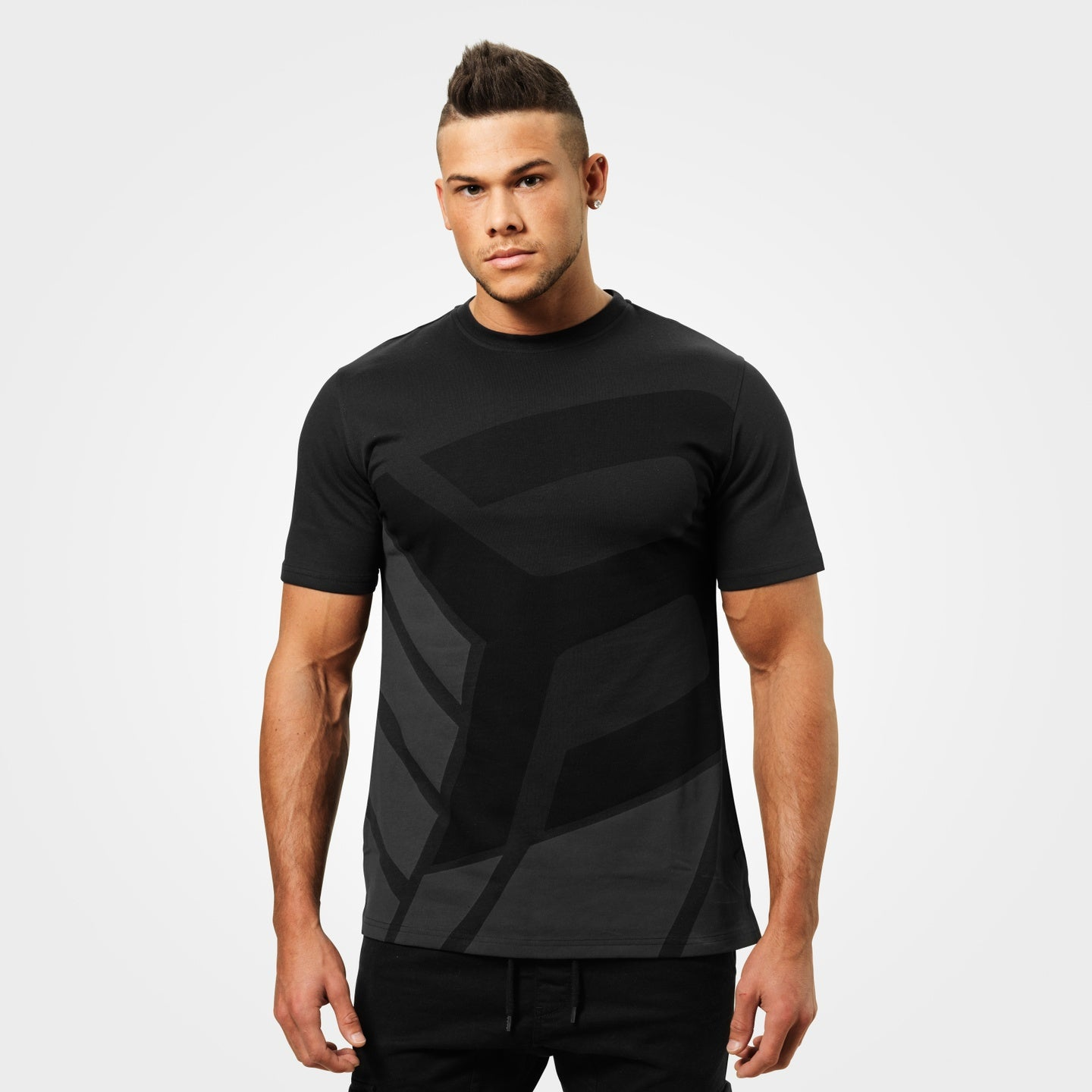 Image of   BETTER BODIES - BRONX TEE BLACK