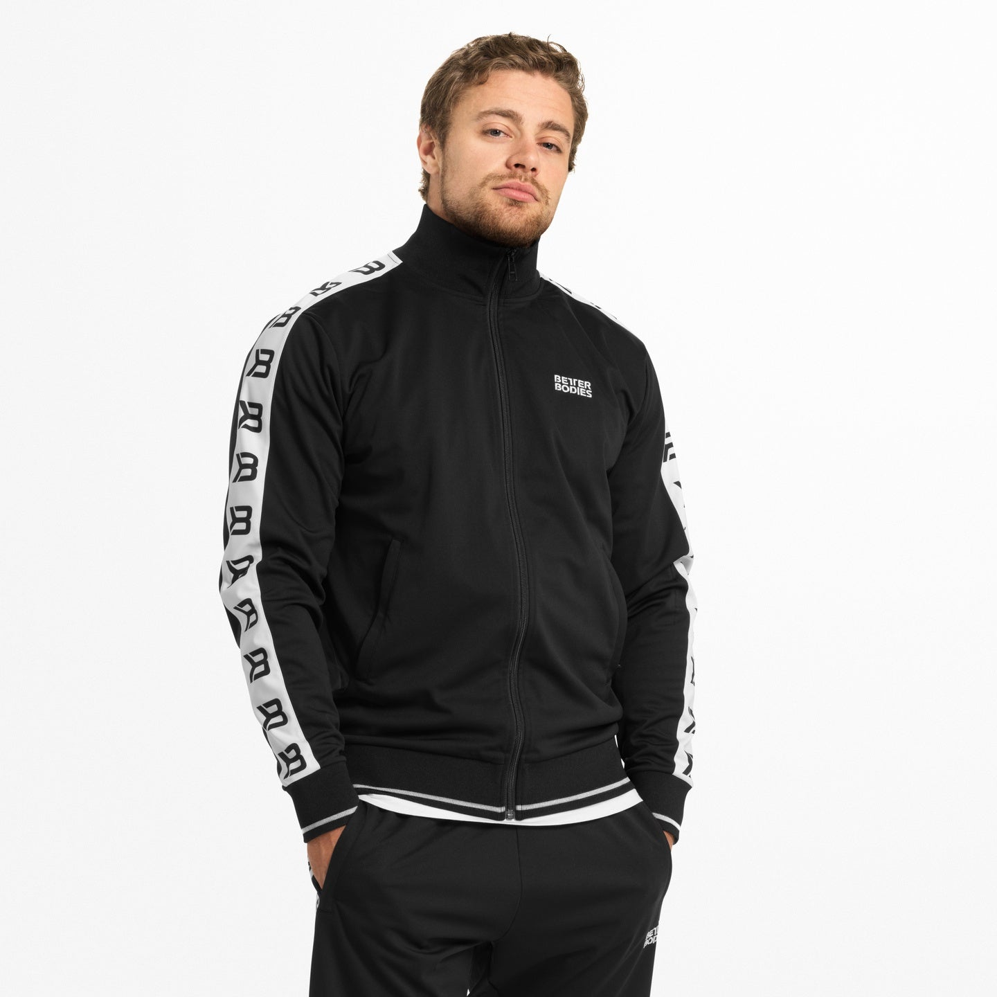 Image of   BETTER BODIES - BRONX TRACK JACKET SORT