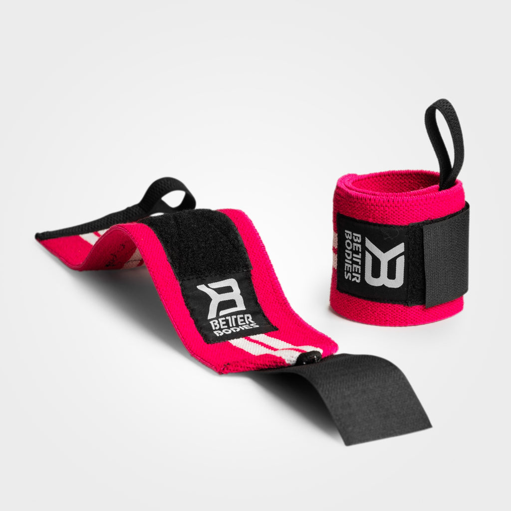 BETTER BODIES – WRIST WRAPS PINK