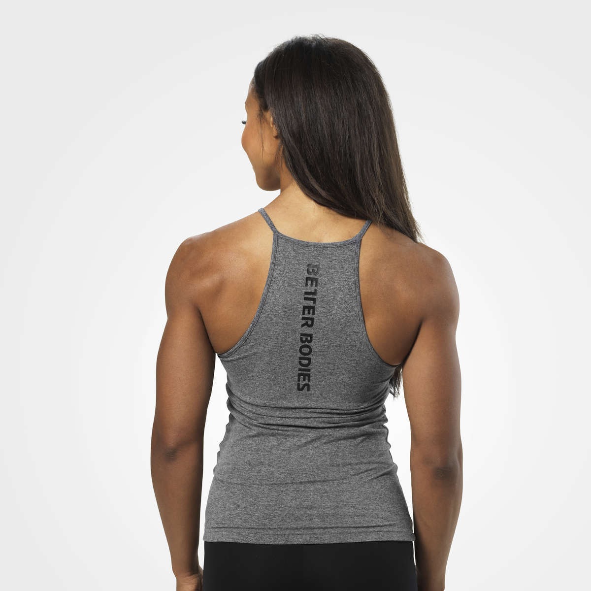 BETTER BODIES – PERFORMANCE HALTER GRAPHITE