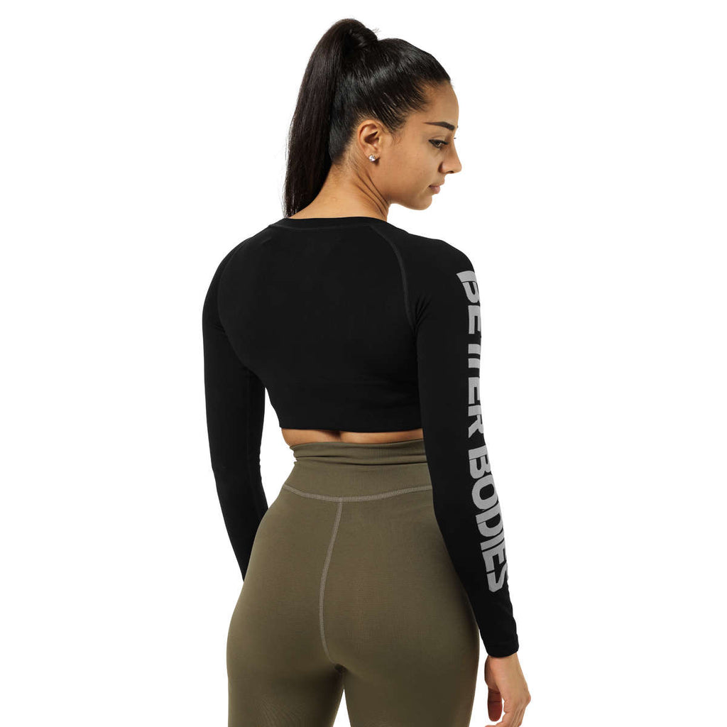 BETTER BODIES – BOWERY CROPPED LONG SLEEVE SORT