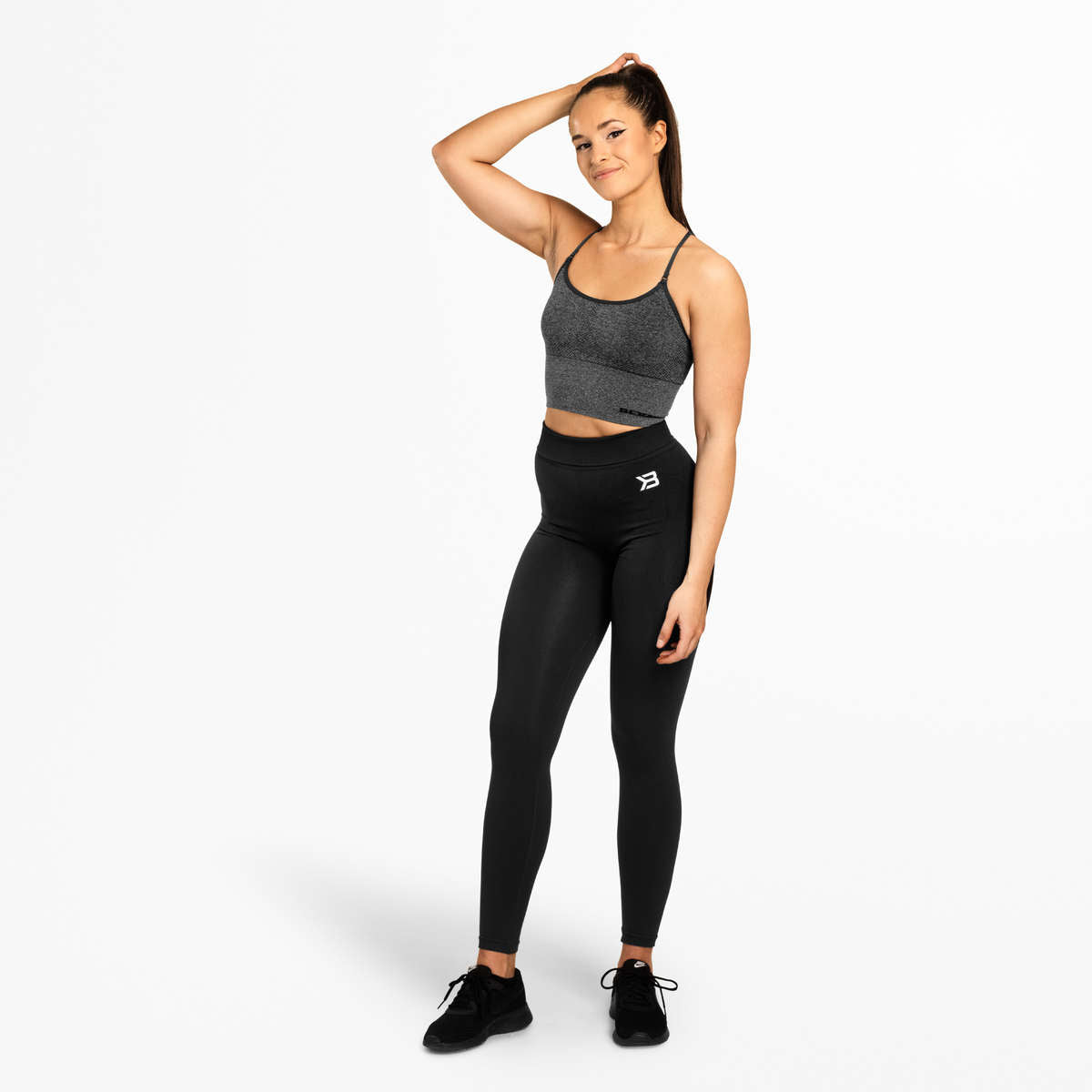 BETTER BODIES – ASTORIA SEAMLESS TOP GRAPHITE