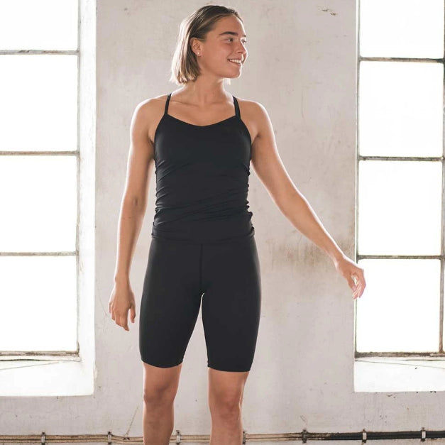 AIM'N - AIM HIGH SINGLET 2.0 BLACK
