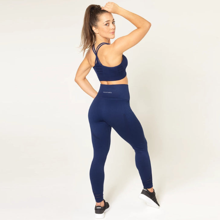 V3 APPAREL - CONTOUR SEAMLESS TIGHTS NAVY