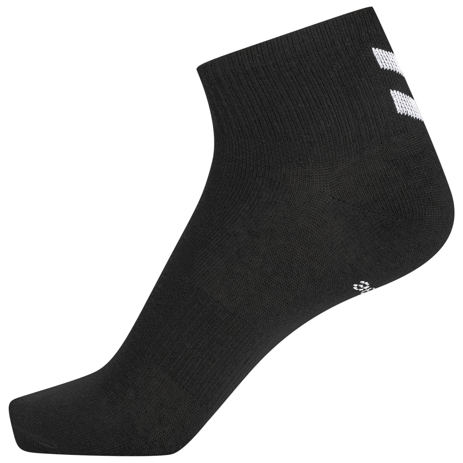 HUMMEL - CHEVRON 6-PACK MID CUT SOCKS SORT