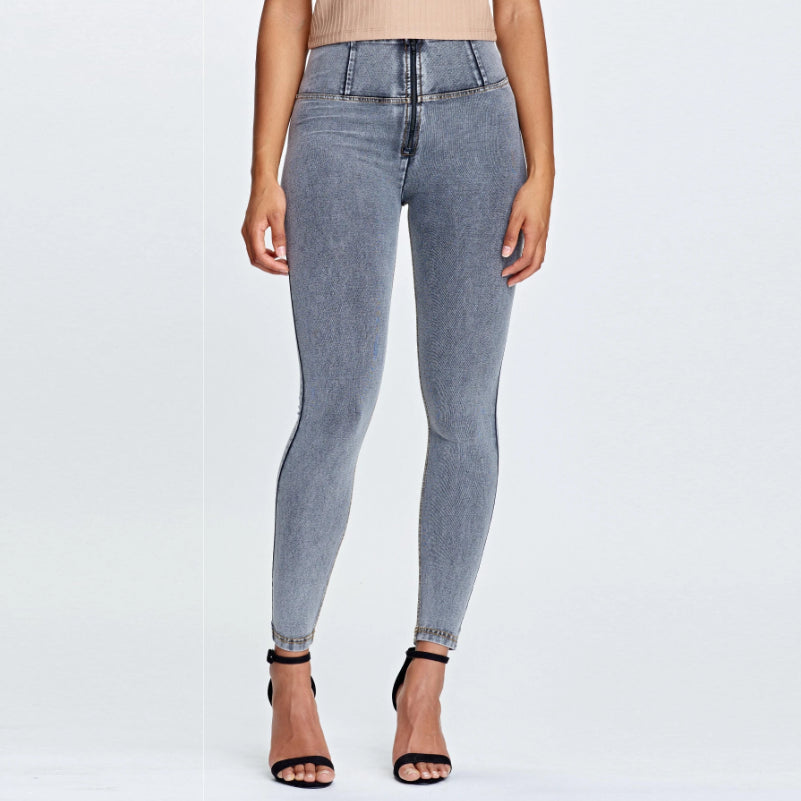 FREDDY WR.UP® HIGH WAIST - DENIM GRÅ