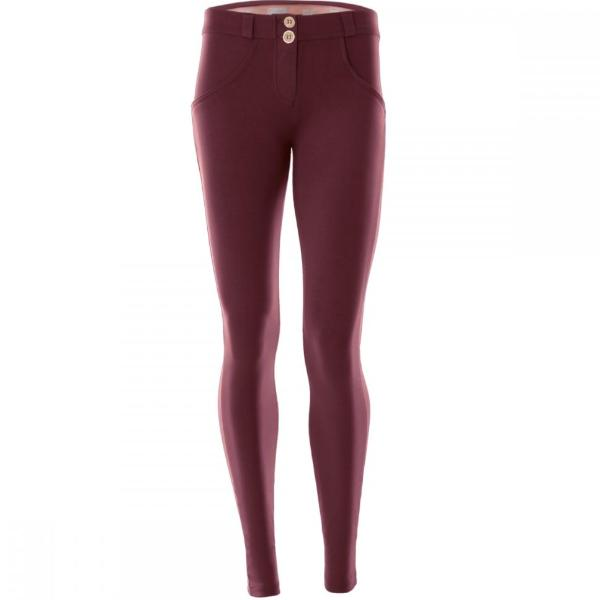FREDDY WR.UP® LOW WAIST - BORDEAUX