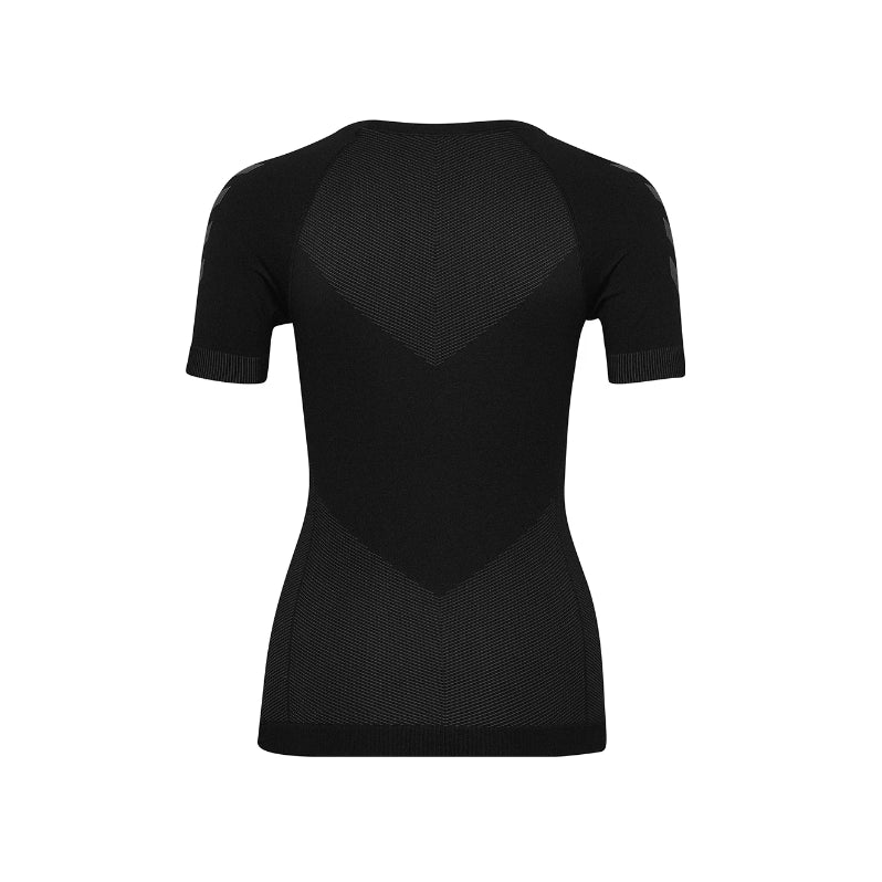 HUMMEL - FIRST SEAMLESS JERSEY S/S BLACK