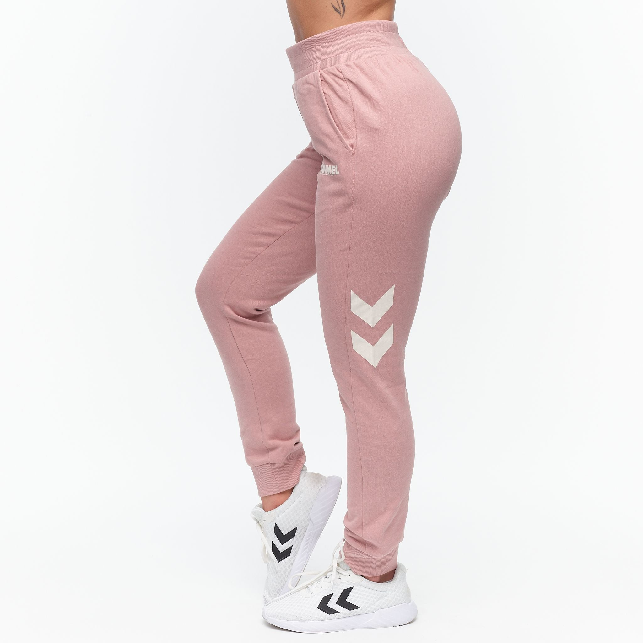 HUMMEL - LEGACY TAPERED PANTS ROSE