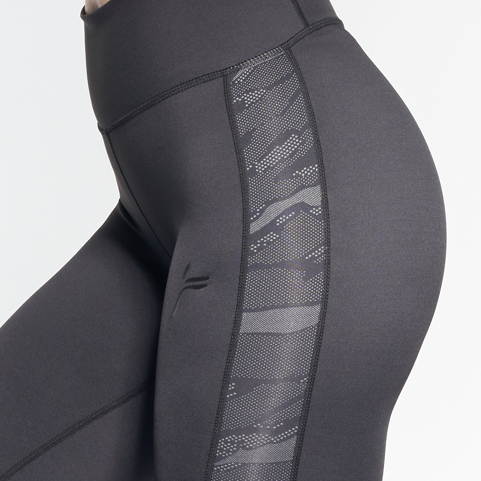 FAMME - FLEX TIGHTS BLACK