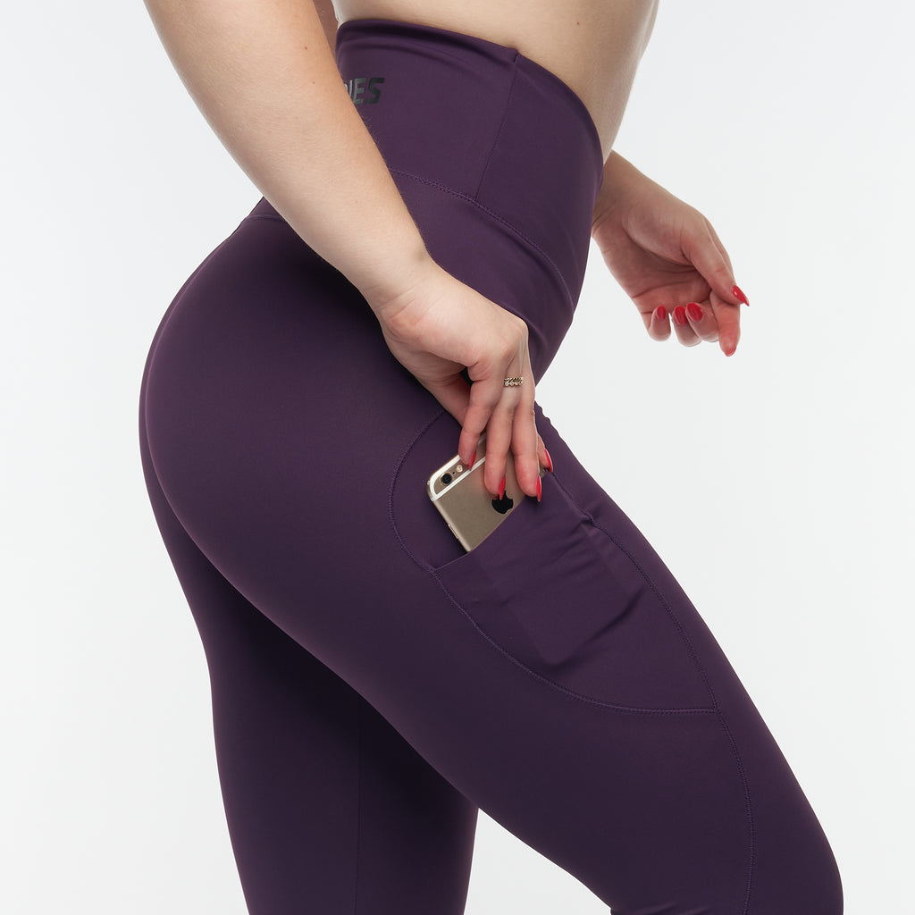 BETTER BODIES – HIGH WAIST TIGHTS ROYAL PURPLE