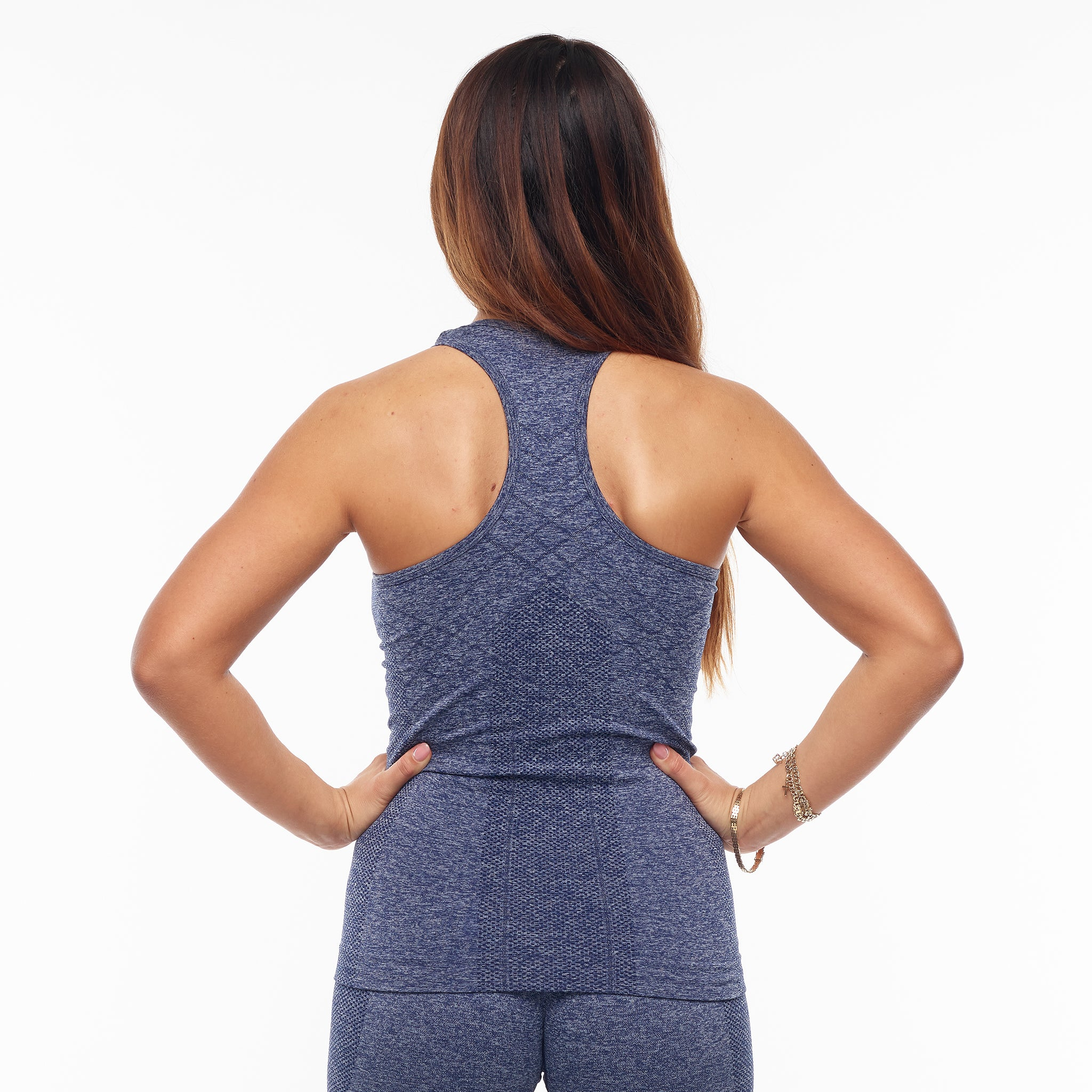 GYMONE – ACCEPT TANK TOP BLUE