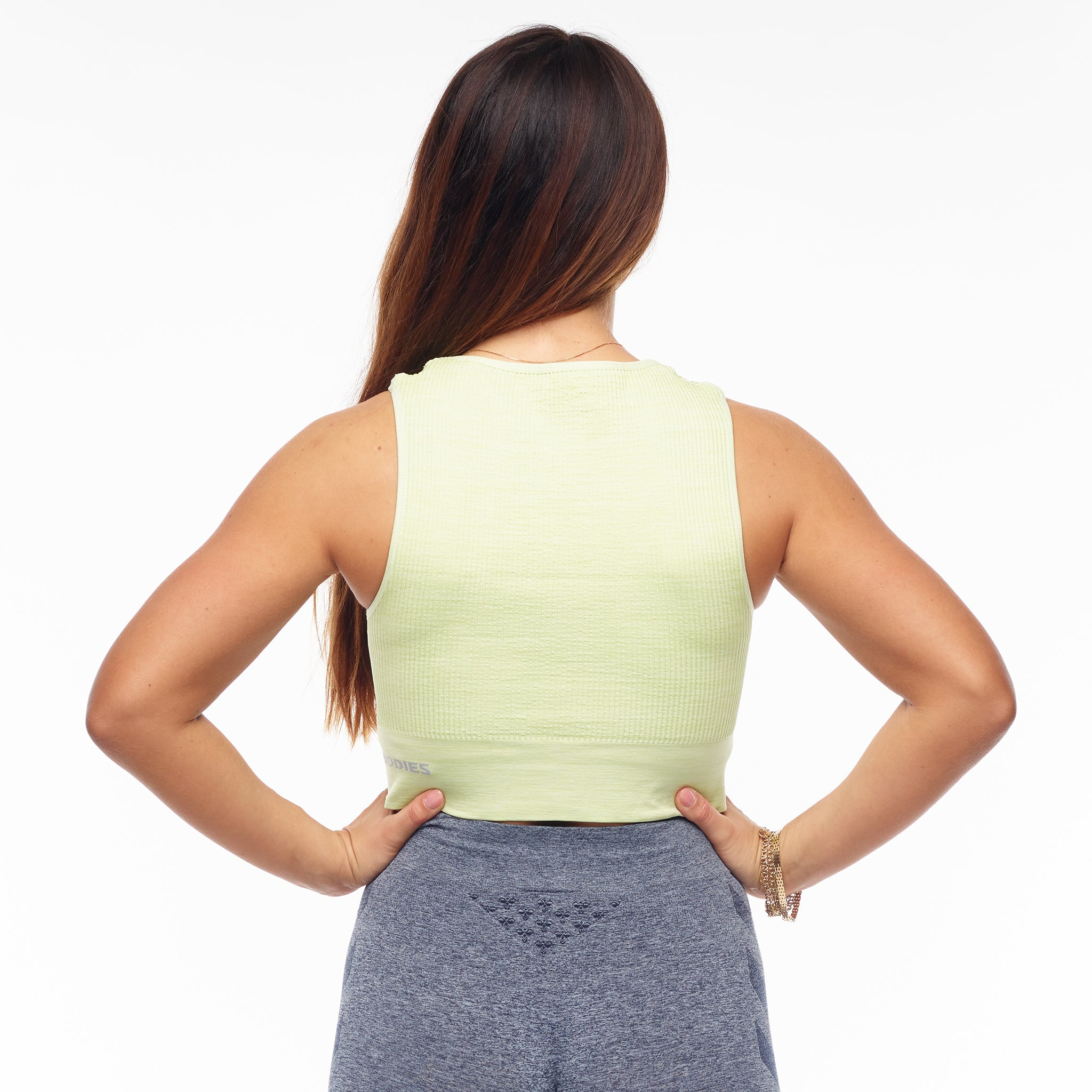 BETTER BODIES – RIB SEAMLESS TOP MELLOW